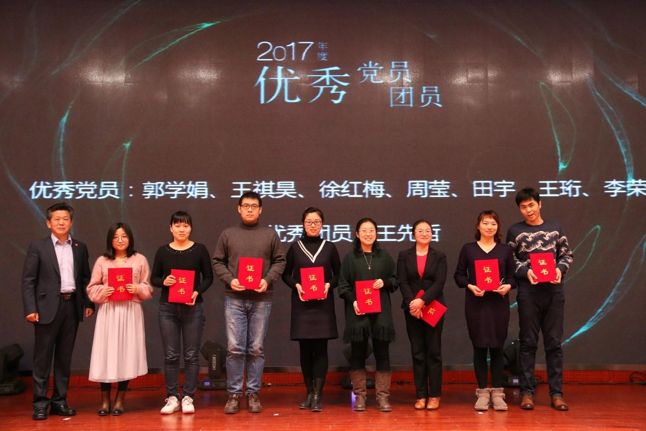 2017年度优秀党团员